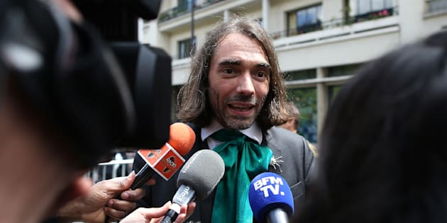 Le mathématicien Cédric Villani fait 45% dans l'Essonne  The two-round parliamentary elections will take place in France on June 11 and June 18, 2017.  / AFP PHOTO / CHARLY TRIBALLEAU