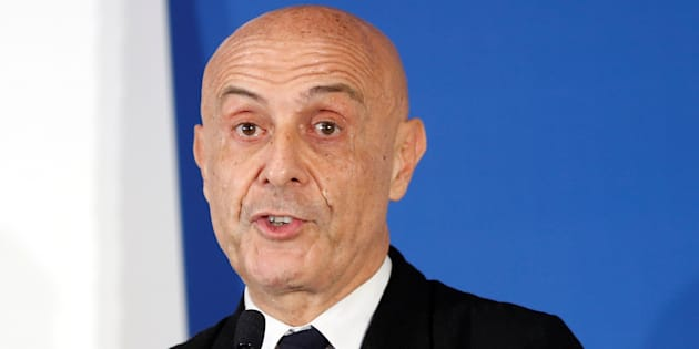 Italy's Interior Minister Marco Minniti speaks during the news conference at the end of the G7 Interior Ministers meeting at the Ischia island, Italy October 20, 2017. REUTERS/Ciro De Luca