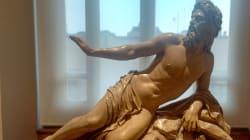 La escultura de 1880 que ya retrataba la tensión