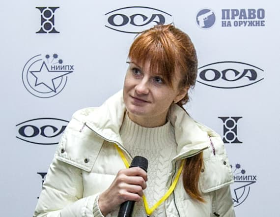 Butina indicted on charges of being Russian agent