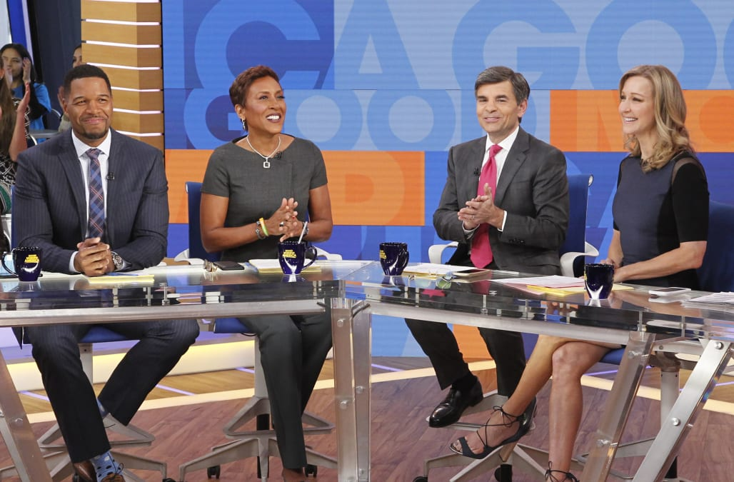 Good Morning America Beauty Tips : Rumors swirl of bad blood between michael strahan and