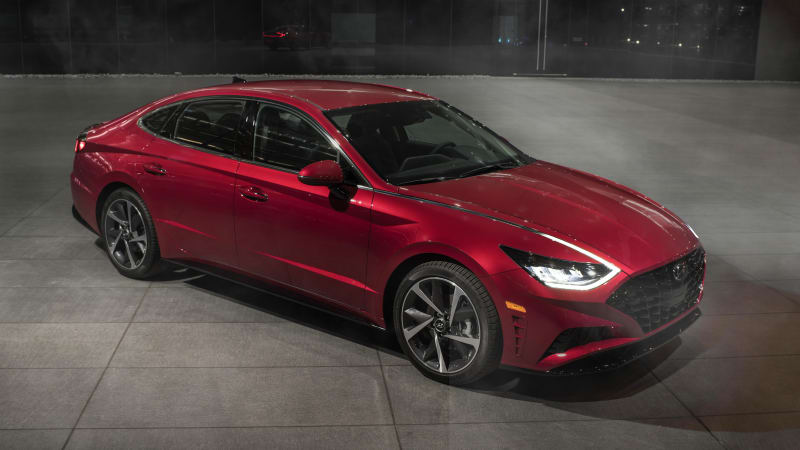 New York The 2020 Hyundai Sonata Just Made Its North American Debut At Auto Show But What It Teased Out Right End Of Announcement