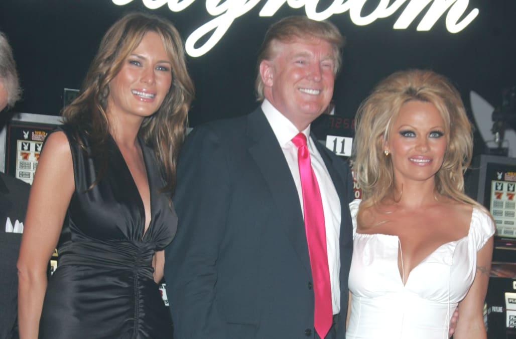 Pamela Anderson says she\'s the reason Melania Trump and Kim ...