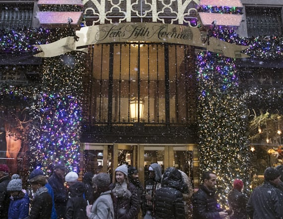 Watch LIVE: Saks Fifth Avenue's 2018 holiday windows