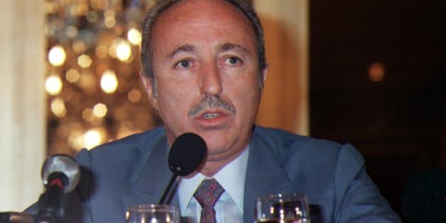 Bernard Darty, ici le 5 mars 1988 à Paris, est mort à Miami à l'âge de 84 ans.