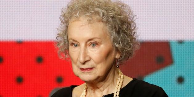 """L'auteure de """"La servante écarlate"""", Margaret Atwood, voit son féminisme remis en cause."""