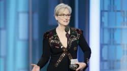 Meryl Streep atacó a Donald Trump en los Golden Globes con este