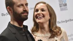 Natalie Portman et Benjamin Millepied amoureux sur le tapis