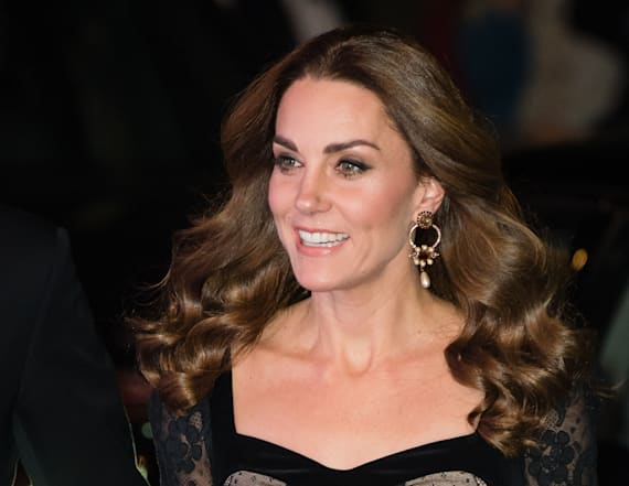 Kate Middleton is a knockout in Alexander McQueen