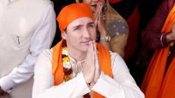 Les nombreuses tenues et danses traditionnelles de Trudeau n'auront pas sauvé sa visite en