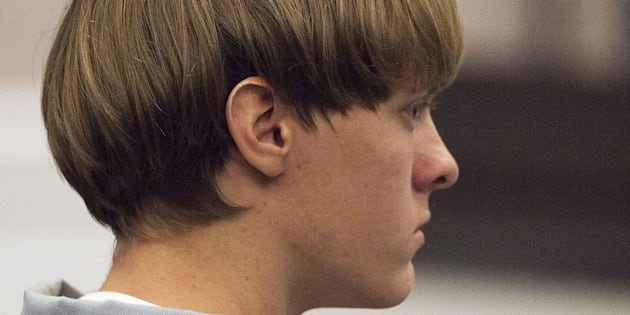 Dylann Roof, who has since been convicted of killingnine worshippers at a historic black church in Charleston, South Carolina, listens to the proceedings with assistant defense attorney William Maguire during a hearing onJuly 16, 2015. REUTERS/Randall Hill