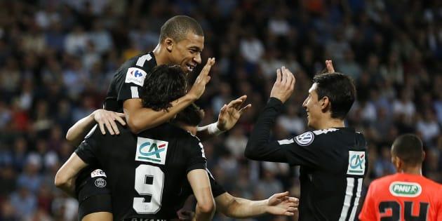 Coupe de France: Le PSG écarte Caen et retrouvera Les Herbiers en finale.