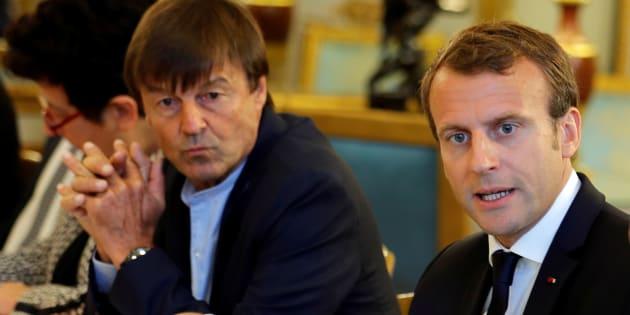 """Pour Emmanuel Macron, Nicolas Hulot """"apprend les contraintes de l'exercice politique"""""""