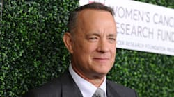 American Hero Tom Hanks Gives White House Press Corps A Coffee