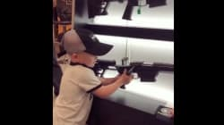 La vidéo de cet enfant qui manipule une arme donne froid dans le