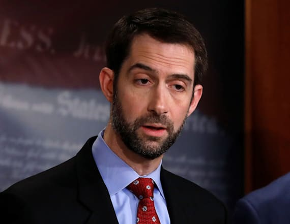 Report: Tom Cotton being considered for top CIA post
