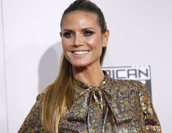 Heidi Klum fashion to be sold at grocery stores