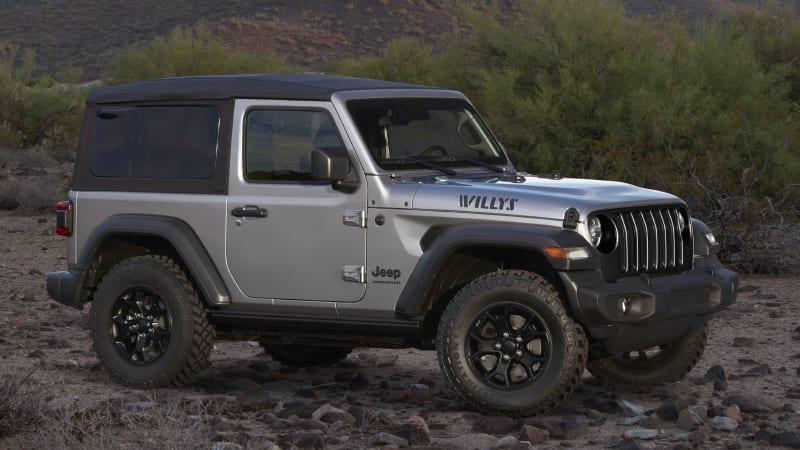 2020 Jeep Wrangler добавляет Willys