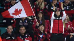 Scott Moir pompette, le plus grand fan du Canada aux