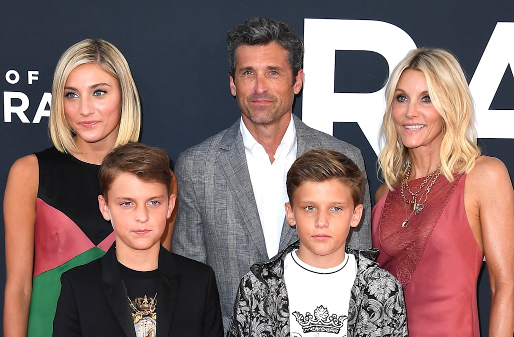 Patrick Dempsey Makes Rare Public Appearance With Gorgeous Family