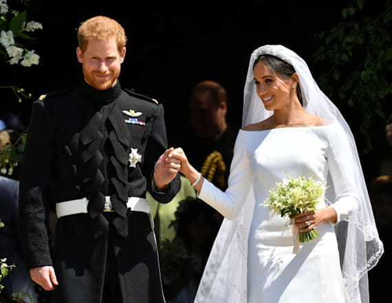 Thomas Markle reacts to daughter Meghan's wedding