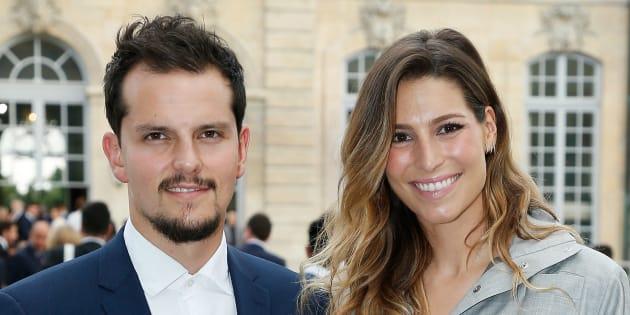 La déclaration d'amour de Laury Thilleman à Juan Arbelaez fait craquer les internautes qui s'interrogent sur sa signification (Paris, France).