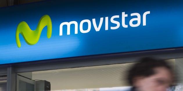 Una tienda de Movistar en Madrid.