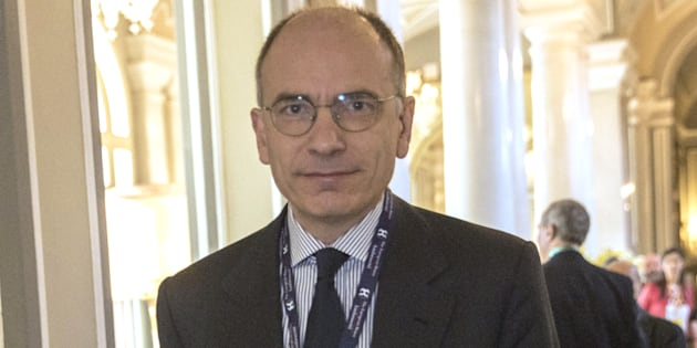 Enrico Letta, Italy's former prime minister, enters the conference room during the 29th edition of 'The Outlook for the Economy and Finance,' workshop organized by the European House - Ambrosetti in Villa d'Este in in Cernobbio, Italy, on Saturday, April 7, 2018. Investors and economists attending the annual Ambrosetti Spring workshop along the shores of Italys Lake Como voiced concern about protectionist saber-rattling between the U.S. and China. Photographer: Francesca Volpi/Bloomberg via Getty Images