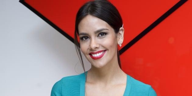 Cristina Pedroche durante la presentación del programa 'Tú sí que si'.