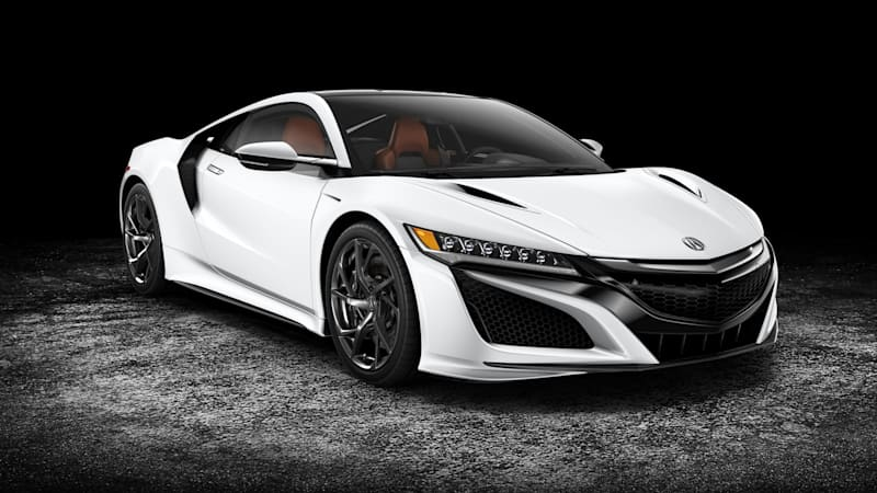 How The Autoblog Staff Would Configure 2017 Acura Nsx