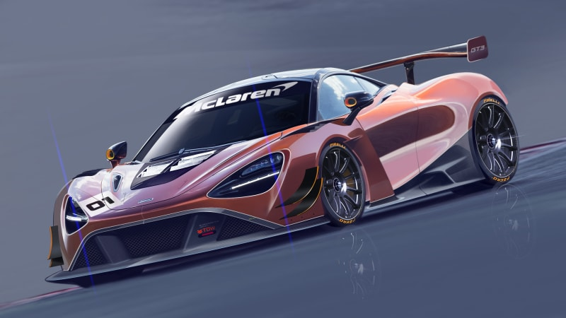 McLaren reveals the 720S GT3 race car - Autoblog