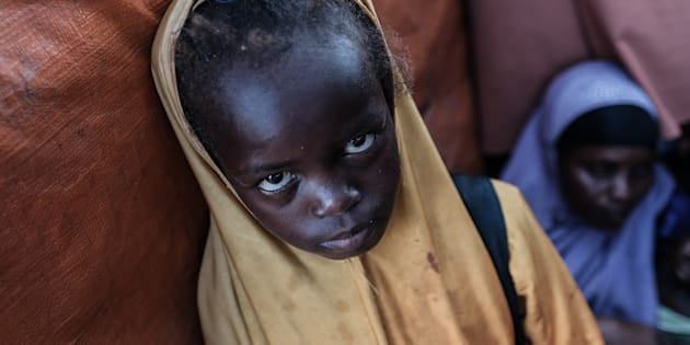 When a famine is declared, it means four out of every 10,000 children are dying every day.