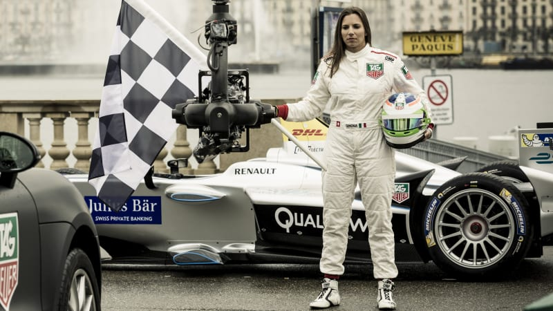 First full-time female driver for Formula E - Autoblog