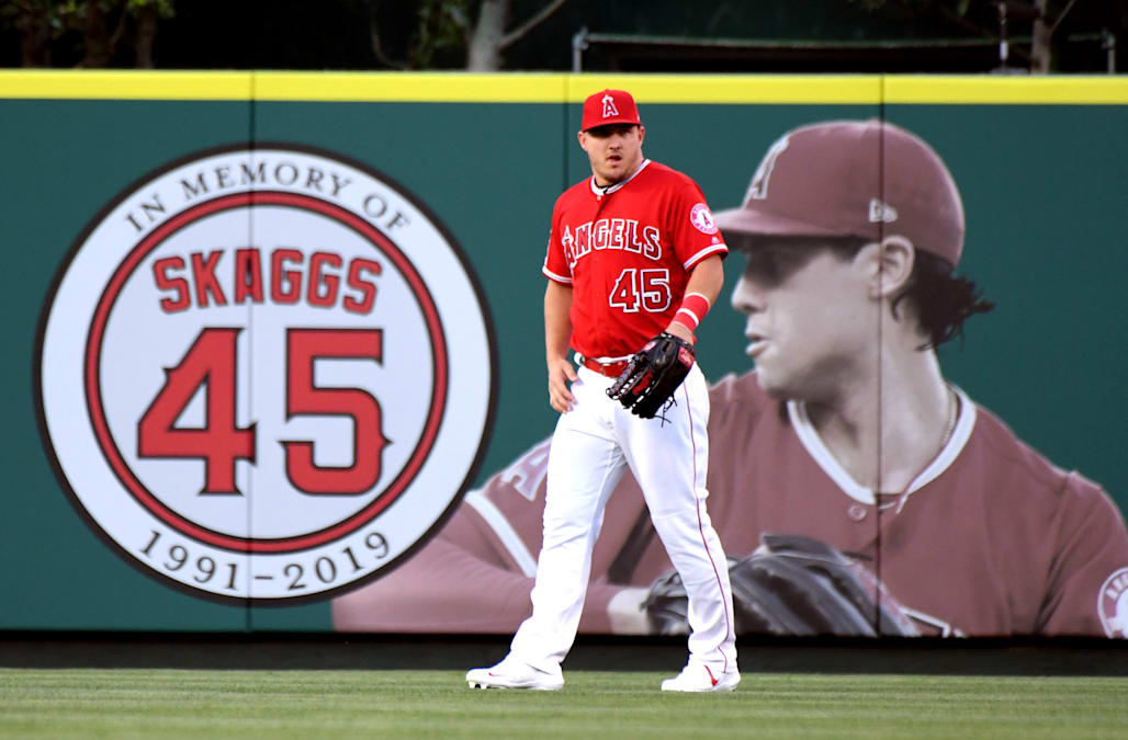 release date: da6a3 c41f1 Nine MLB players to don Tyler Skaggs tributes on Players ...