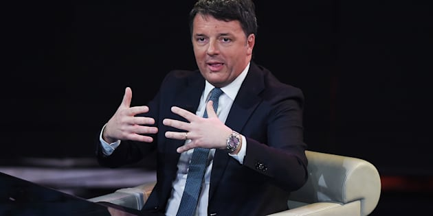MILAN, ITALY - FEBRUARY 17:  Matteo Renzi attends 'Che Tempo Che Fa' TV Show at  on February 17, 2019 in Milan, Italy. (Photo by Stefania D'Alessandro/Getty Images)