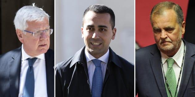 Di Maio azzoppa Romani e Calderoli per la presidenza del Sen