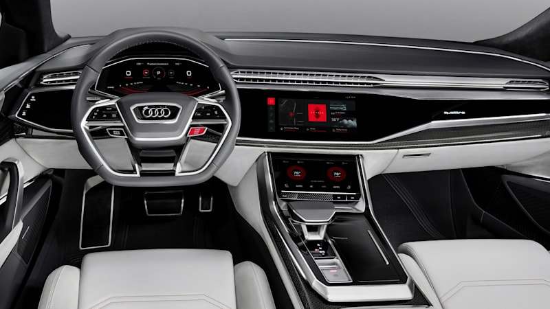 Audi Features Google Android Infotainment System In Q Sport Concept - Google audi car