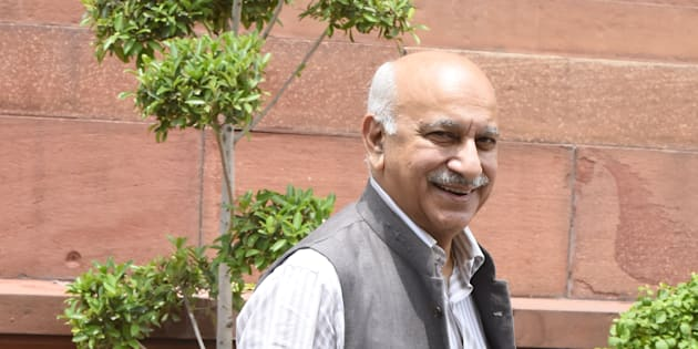 Minister of State for External Affairs MJ Akbar in a file photo.