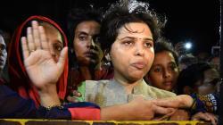 Trupti Desai's Bhumata Brigade Activists Assault Man Charged With Strangling Pune