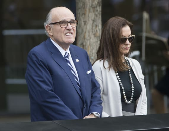 Giuliani settles divorce from third wife: report
