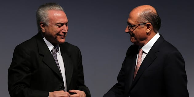 Oficialização de Geraldo Alckmin sinaliza distanciamento da imagem do governo de Michel Temer.