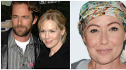Jennie Garth And Luke Perry Honor Shannen Doherty During '90210'