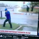 Florence: La chaîne météo américaine défend le duplex jugé ridicule de l'un de ses
