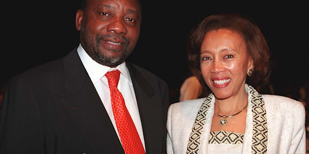 Cyril Ramaphosa and his wife Dr Tshepo Motsepe.