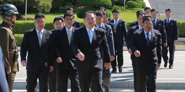 """Le n°2 nord-coréen rencontre Trump pour lui remettre une """"lettre scellée"""" de Kim Jong Un."""