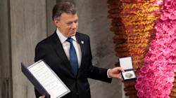 Colombian President Accepts Nobel Peace Prize For Historic Peace