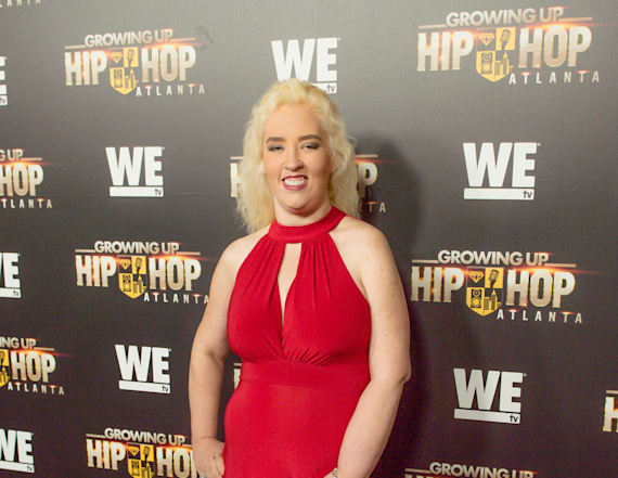 Mama June flaunts sexy figure in red gown