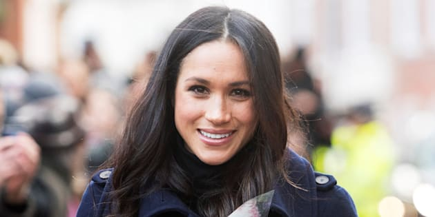 Meghan Markle in Nottingham, Britain on Dec. 1, 2017.