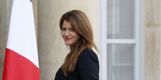 Marlène Schiappa, Secrétaire d'Etat auprès du Premier ministre, chargée de l'égalité entre les femmes et les hommes et de la lutte contre les discriminations.