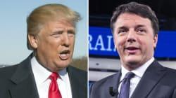 Renzi e Trump